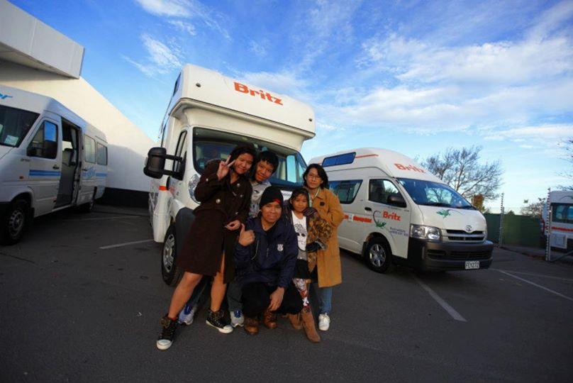 ขับรถบ้านเที่ยวนิวซีแลนด์